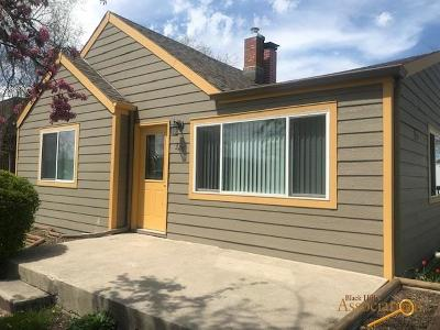 Single Family Home For Sale: 320 E Watertown