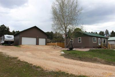 Custer Single Family Home For Sale: 311 Clay
