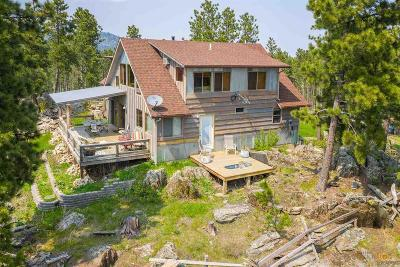 Rapid City Single Family Home For Sale: 13347 Silver Mountain Road