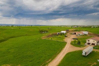Rapid City Single Family Home For Sale: 14830 Long View Rd