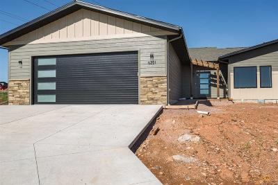 Rapid City Condo/Townhouse For Sale: 6221 Wind River Rd