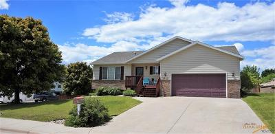 Rapid City Single Family Home For Sale: 2623 Merlot Dr