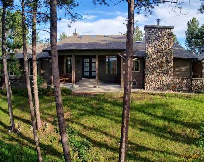 Rapid City Single Family Home For Sale: 23590 Wilderness Canyon Rd
