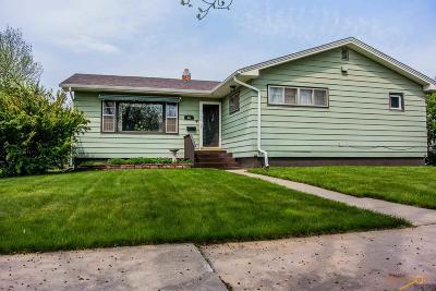 Rapid City Single Family Home For Sale: 221 Platt