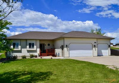 Rapid City Single Family Home U/C Contingency: 23003 Morninglight Dr