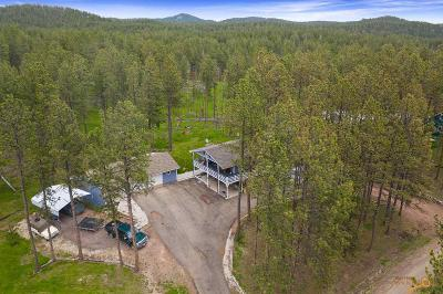 Single Family Home For Sale: 22479 Alpine Acres