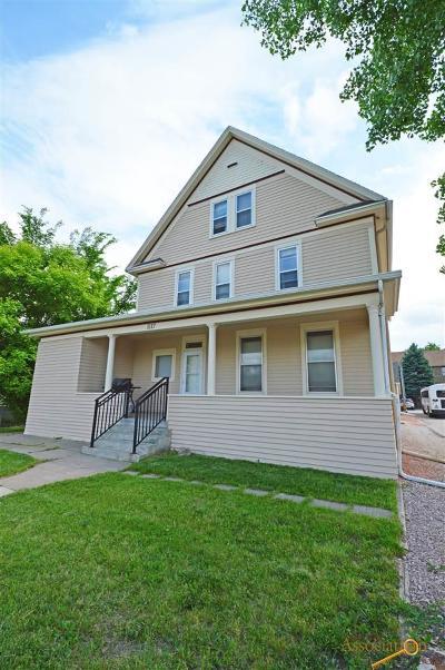 Rapid City Multi Family Home For Sale: 1117 St Joseph
