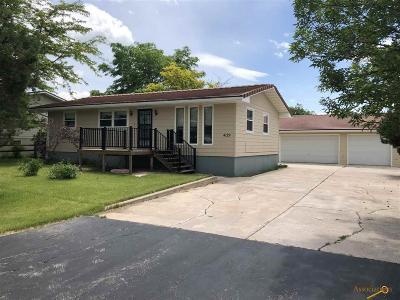 Rapid City Single Family Home U/C Take Back Ups: 4129 Ave A