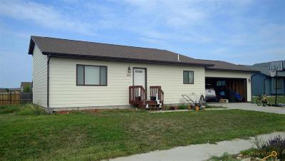 Box Elder SD Single Family Home For Sale: $189,900