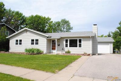 Rapid City SD Single Family Home For Sale: $164,900