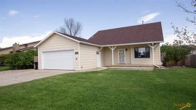 Rapid City Single Family Home For Sale: 1624 Copperdale Dr