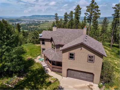 Spearfish Single Family Home For Sale: 2620