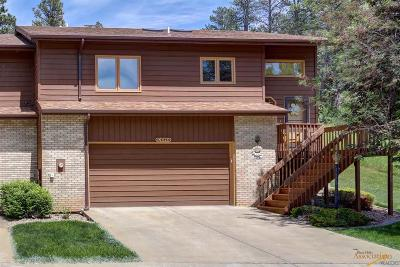 Rapid City Condo/Townhouse For Sale: 916 City Springs Rd