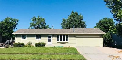 Rapid City Single Family Home For Sale: 3725 Locust