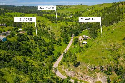 Rapid City Residential Lots & Land For Sale: 6390 Nameless Cave Rd