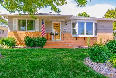 Rapid City Single Family Home U/C Take Back Ups: 4106 W St Louis
