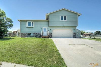 Rapid City Single Family Home U/C Contingency: 639 Ken Ct