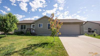Rapid City Single Family Home U/C Contingency: 5086 Savannah St