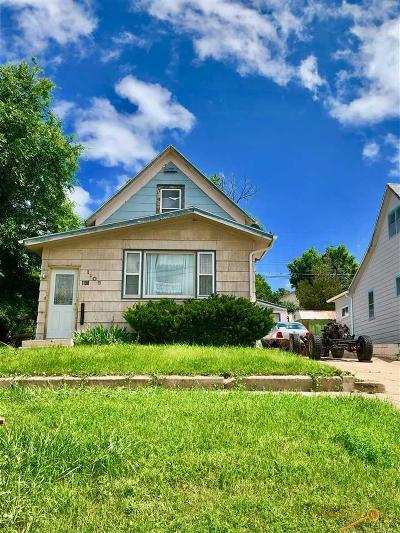 Rapid City Single Family Home For Sale: 1108 4th