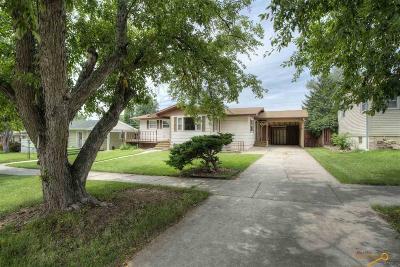 Rapid City Single Family Home For Sale: 117 N Platt