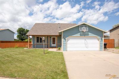 Rapid City Single Family Home U/C Contingency: 1619 Copperfield Dr