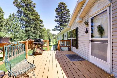 Rapid City Manufactured Home For Sale: 23651 Busted Five Ct