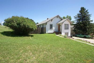 Custer SD Single Family Home For Sale: $165,000