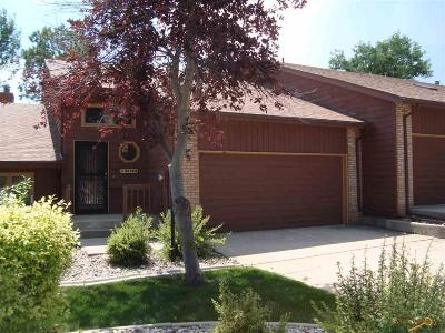 Rapid City Condo/Townhouse For Sale: 4829 Mt Springs Ct