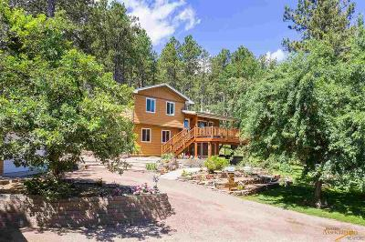 Black Hawk Single Family Home For Sale: 8217 Chickadee Ln