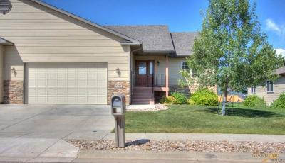 Rapid City Condo/Townhouse For Sale: 6823 Dunsmore Rd