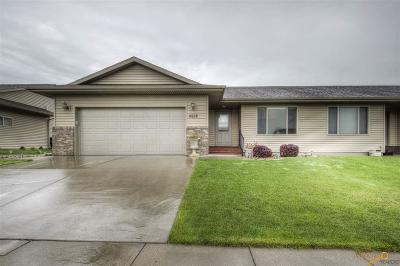 Rapid City Condo/Townhouse For Sale: 4928 Patricia St