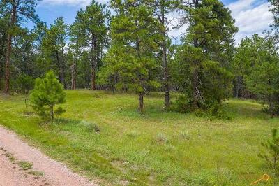 Hot Springs SD Residential Lots & Land For Sale: $29,000