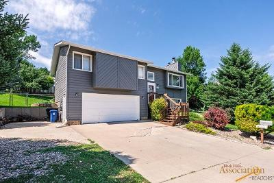 Rapid City SD Single Family Home U/C Contingency: $237,500