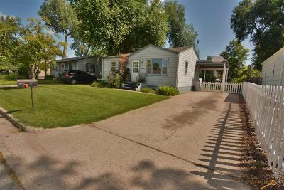 Rapid City SD Single Family Home For Sale: $149,500