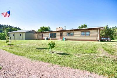 Hot Springs SD Single Family Home For Sale: $219,900