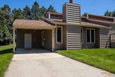 Rapid City Condo/Townhouse For Sale: 4820 Powderhorn Dr