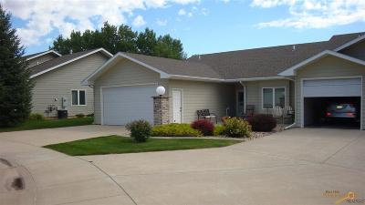 Rapid City Condo/Townhouse For Sale: 4232 Carmel Point