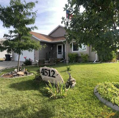 Rapid City Single Family Home For Sale: 4512 Milehigh Ave