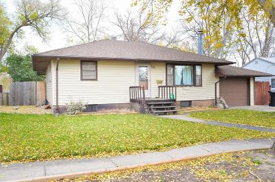Pierre Single Family Home For Sale: 206 N Tyler Ave