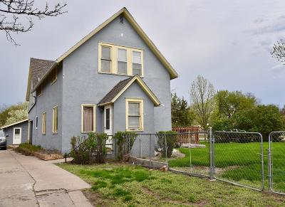 Pierre Single Family Home For Sale: 205 S Jackson & Rear