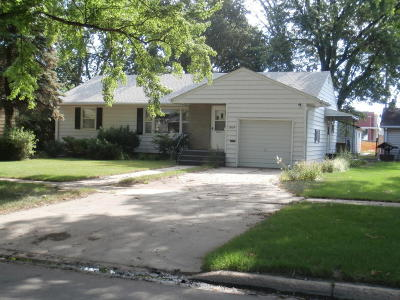 Huron SD Single Family Home For Sale: $119,000