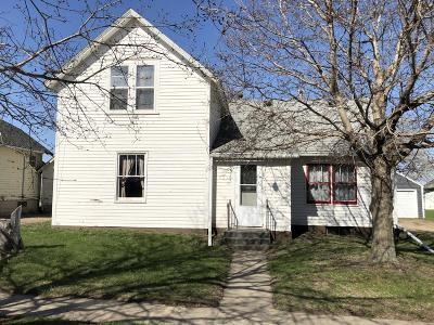 Wolsey SD Single Family Home For Sale: $69,900