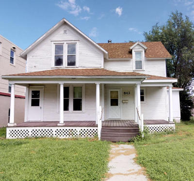 Huron SD Single Family Home For Sale: $49,800