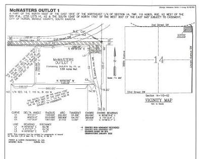 Huron SD Residential Lots & Land For Sale: $60,000