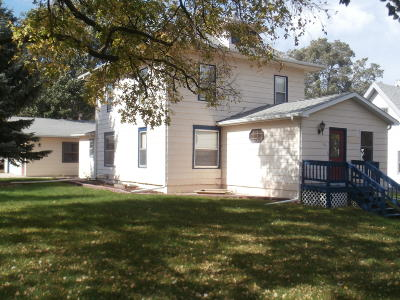 Wessington Springs SD Single Family Home For Sale: $79,000