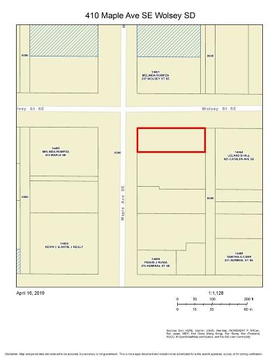 Wolsey Residential Lots & Land For Sale: Maple Ave SE