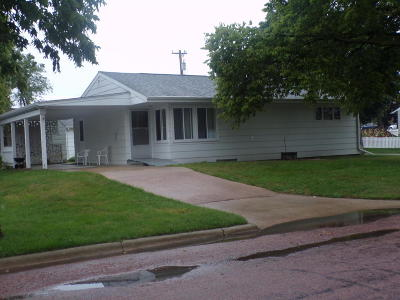 Mitchell SD Single Family Home For Sale: $129,500