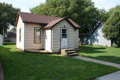 Mitchell SD Single Family Home For Sale: $63,500
