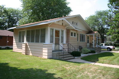 Mitchell SD Single Family Home For Sale: $84,000