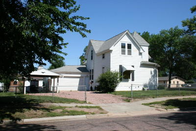Mitchell SD Single Family Home For Sale: $135,900